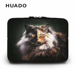 "Cute cat pattern notebook case 11"" 14"" 15"" 12"" laptop sleeve cover 15.6 17"" computer case for asus/mi notebok/ mac air 13 15"