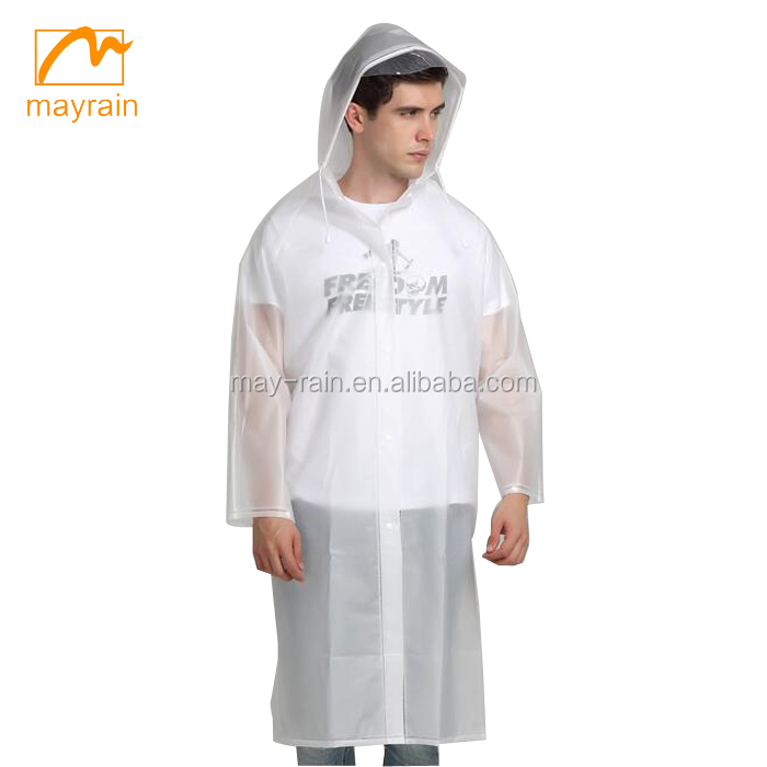 100% waterproof transparent jumpsuit raincoat hooded