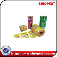 Plastic Coffee Film, Food Packing Film, Packaging Film Roll