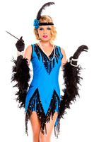 2015 NEW Uniform Cosplay Sexy International Costumes Womens Fascinating Flapper Costume LC8925 Pajamas For Women