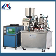 Fuluke high quality crack prices for cup sealing machine used in daily cosmetic industries