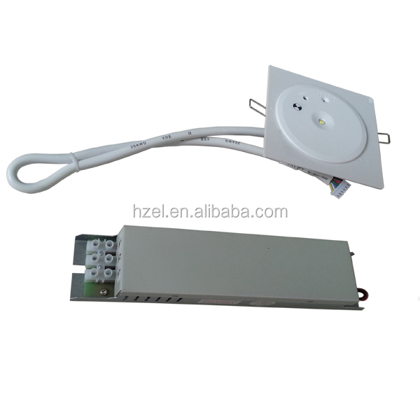 Self-testing 220v Rechargeable Emergency Led Lamp