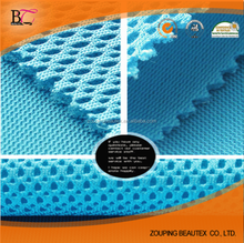 100% polyester spacer mesh fabric and sandwich air mesh for shose