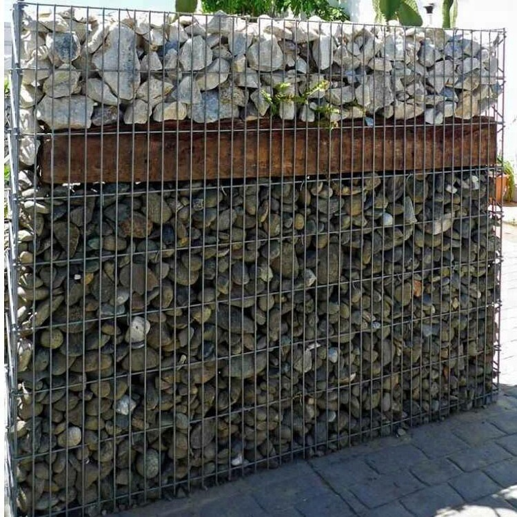 <strong>1</strong> <strong>x</strong> <strong>1</strong> <strong>x</strong> 0.5 m Welded Mesh Gabion Box For Garden Landscaping