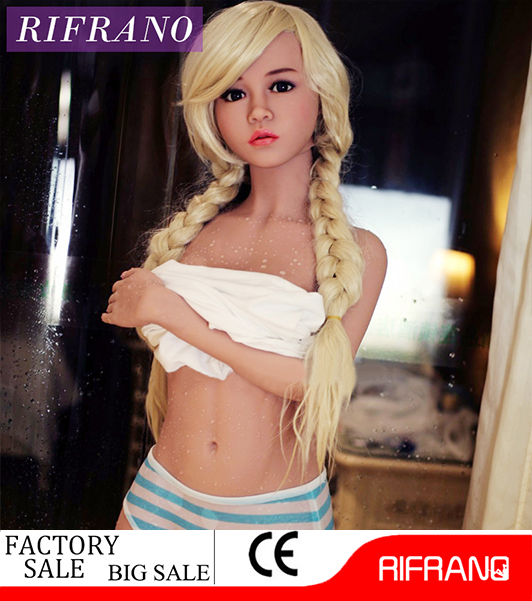 Silicone Sex Doll Real Lifelike Oral Anal Vagina Sex Toy for Adult Men 148cm Full Size Solid Skeleton TPE sex product