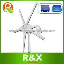 Mini wind power generator . Combine with wind/solar hybrid controller+inverter.