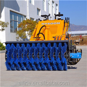 Lower price good quality hysoon mini skid loader