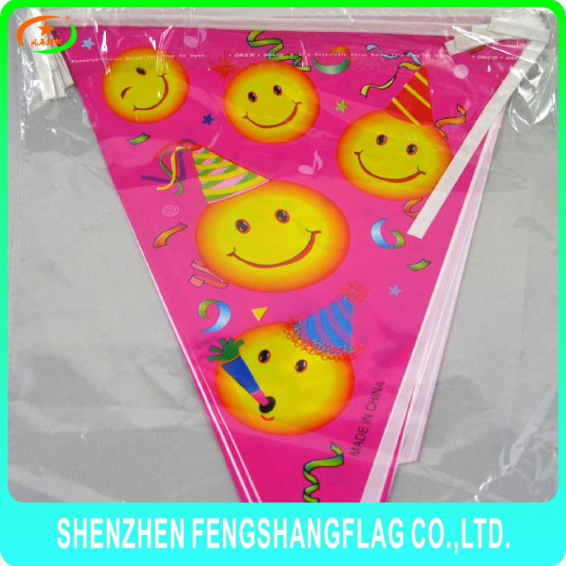 High Quality custom felt triangle pennant flags felt pennant string flags Advertise sports felt pennant flag