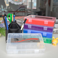 hot sale pencil case with best quality plastic storage box