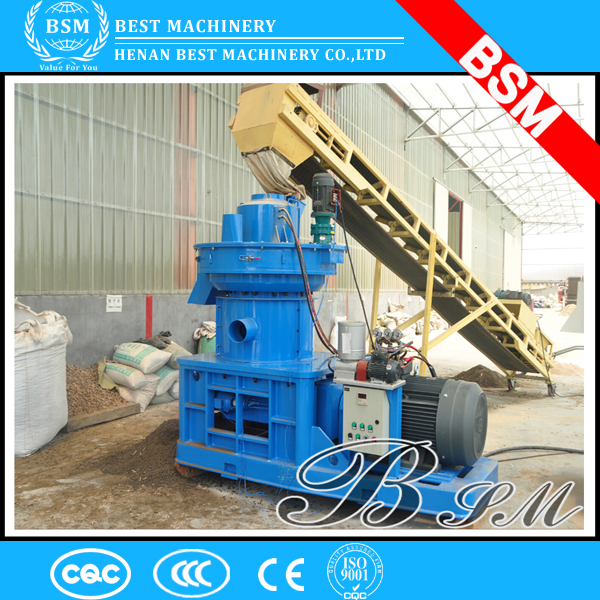 Leading technology coconut shell pellet making machine