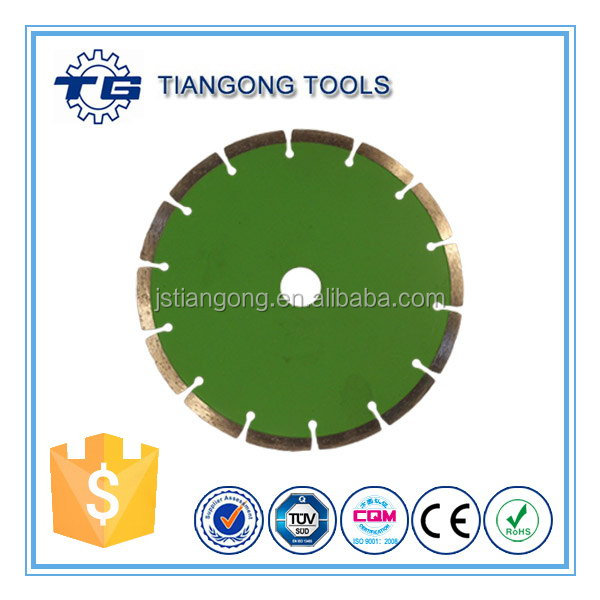 TG Tools Standard Size 16/20/22/23/25.4mm 7 inch wet tile diamond saw blade
