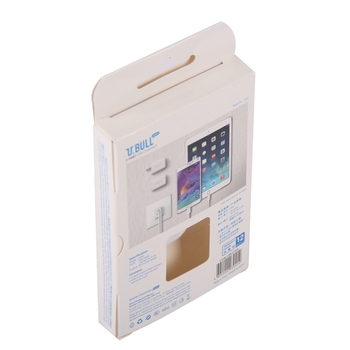 Custom design mobile travel charger usb cable packing box