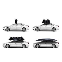 Hail protection electric automatic car roof sun shade umbrella with remote control