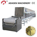 Jinan Adasen microwave drying machine for ginkgo leaf tea