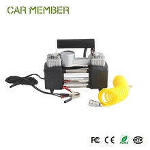 Car Member Portable Mini Electric Small Car air pump, Car Tires 12v dc mini air pump