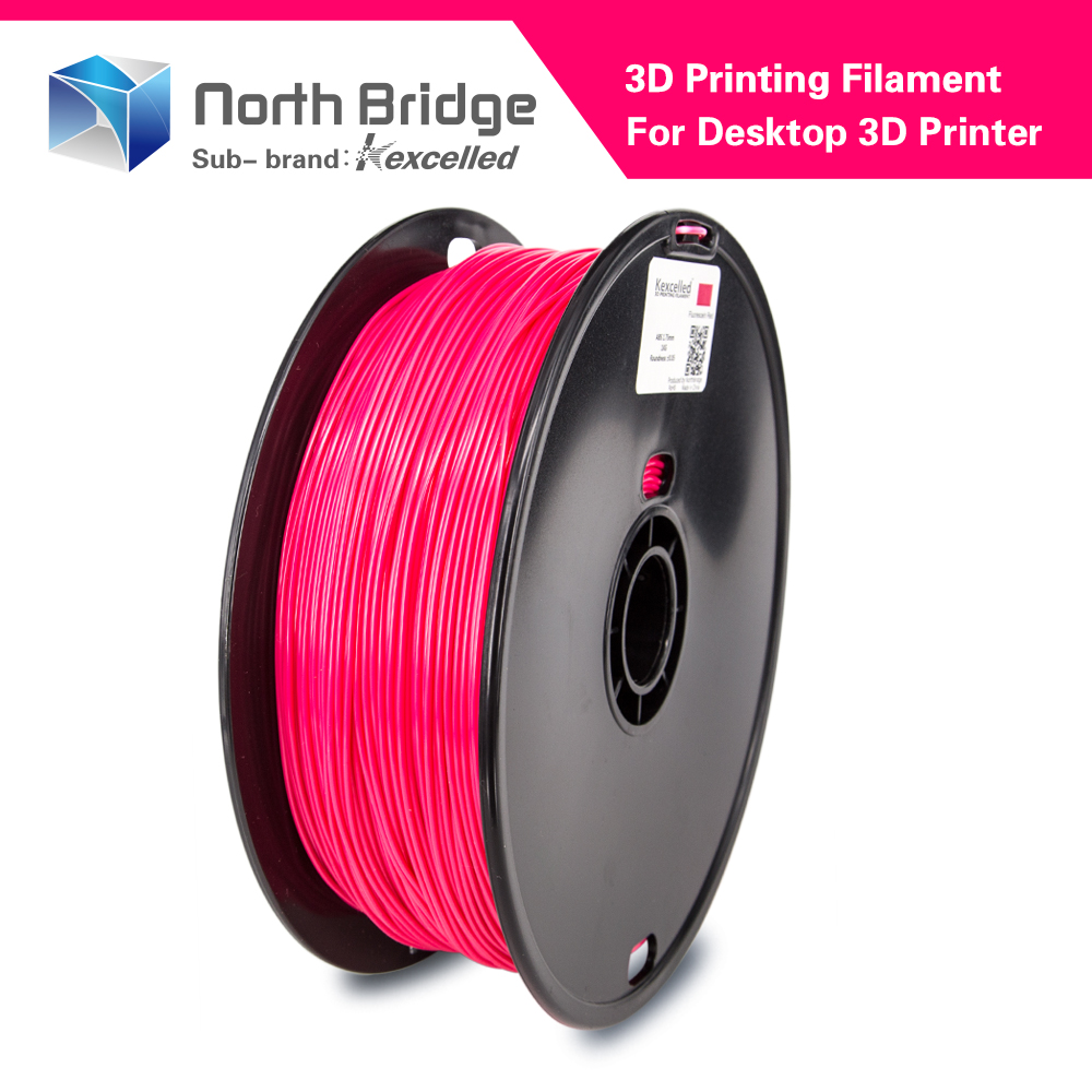 Kexcelled factory directly good quality 3D printer 1.75mm pla filament materials use for FDM extrude printing machine