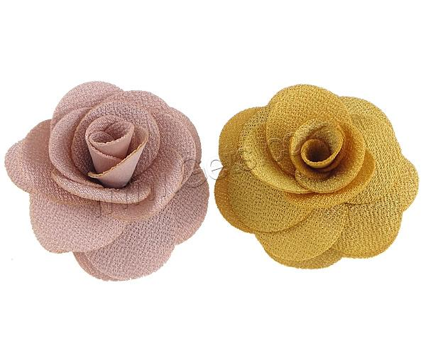 Velveteen Flower Hair Stylist Brooch 812210