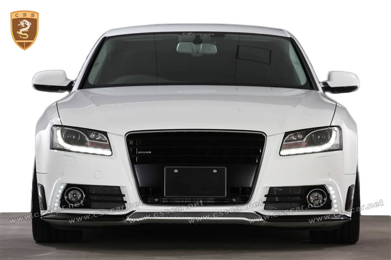 Fctory price tuning car body kit for audi A5 to rw style body in cf+frp
