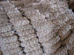 New Crop 5cm-6.5cm pure white and normal white fresh garlic