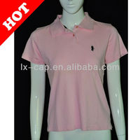 professional polo shirt manufacturer supply women and men polo t shirt