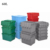 Best Selling Plastic Nestable Moving Boxes with Hinged Lid