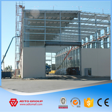 Manufacture Wide span High Strength Prefabricated Steel Frame Structure Industrial Building Shed Warehouse