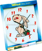 Cow Alarm Clock Wall Clock Rabbit Dial Design