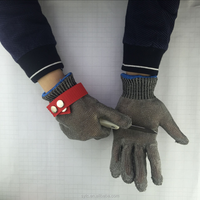 stainless steel mesh gloves for butcher or workman