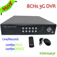 Best selling!!! Kadymay Real-time monitoring H.264 8chs D1 Economic Stand-Alone DVR