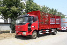 Qingdao FAW 140hp 4X2 light duty mini stake cargo truck for sale