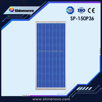 New design hot 150W Poly solar panel made in China