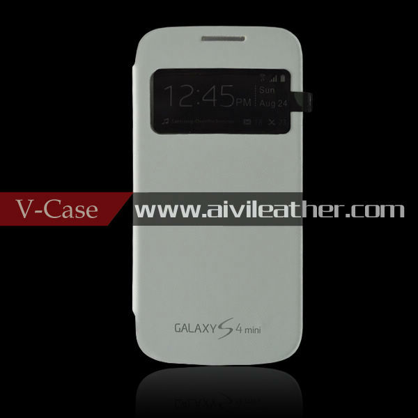 For Samsung Galaxy S4 Mini battery cover, for galaxy s4 Mini battery flip cover