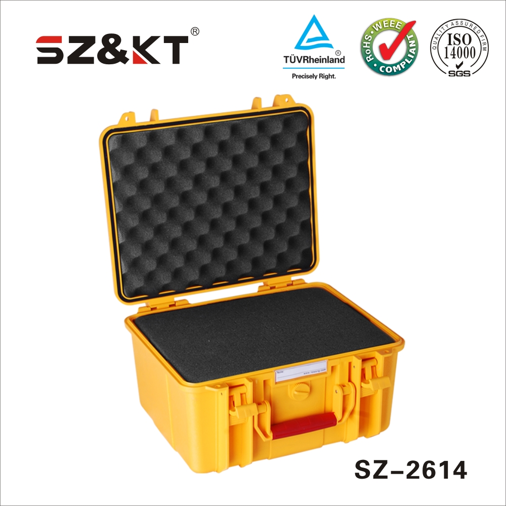 High duty plastic waterproof tool cases for camera