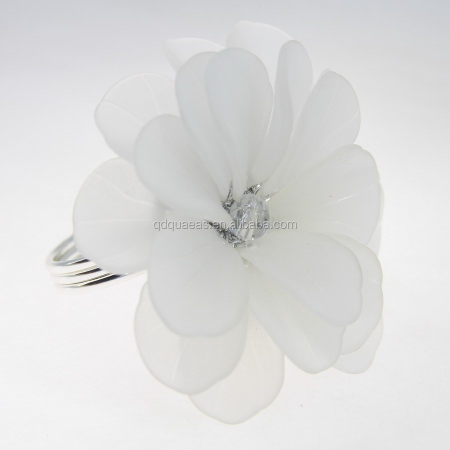 Wholesale Acrylic Flower Napkin Ring Online Buy Best Acrylic