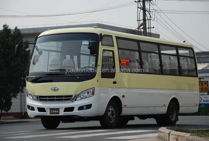 Chinese 18-25 seater mini buses micro bus minivan