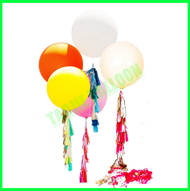 "Big Latex balloon with Confetti is for decoration,36"" Confetti Balloons"