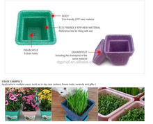 OEM Bulk Buy Lightweight Shockproof Eco-friendly EPP Foam Plastic Flower Pots