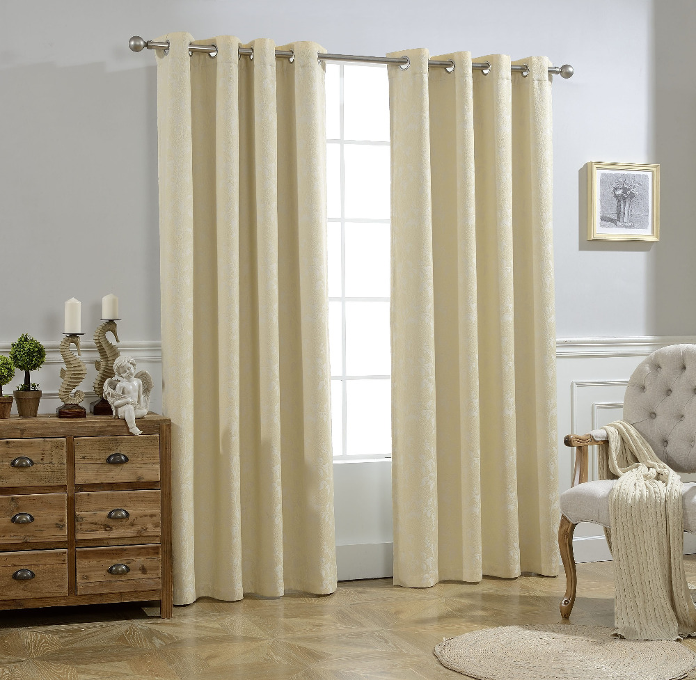 ALLBRIGHT best sell hand made elegant ready made blackout curtains