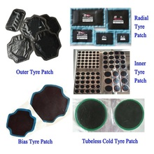 Rubber Vulcanizing Tire patches for Vacuum and Inner tyres