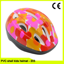 colorful new design customized kids bike helmet for toddler cycling