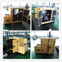 Portable 10kva diesel generator ,generator 3 phase price with canopy