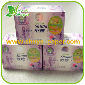Box Packing Herbal Butterfly Panty Liners