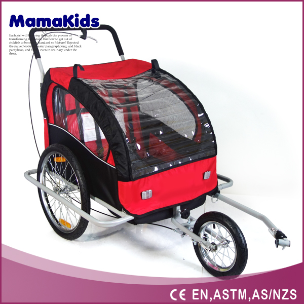 New Design Fashion bike trailer for dogs pet bike trailers