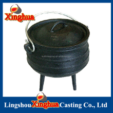 20# Cast Iron South Africa Three Legged Potjie Pot