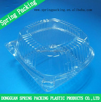 PET PP PS BOPS Plastic food tray frozen food tray packaging cake fast food