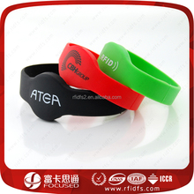 Lead supplier high temperature resist silicone rfid wristband
