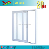 YH Wholesale low prices customized design drawings used aluminum sliding door