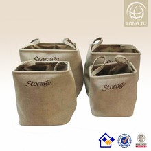 new High quality 100% natural handmade insidesmarts delicates laundry wash bag set of 4