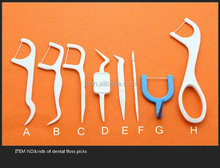 8 types dental tooth pick