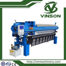 Sludge dewatering chamber filter press for chemical industry